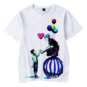 Hot Anime Hunter X Hunter Hisoka 3D Print T Shirt Men Women Summer Fashion Casual T-shirt Harajuku Streetwear Kids 3D T Shirt