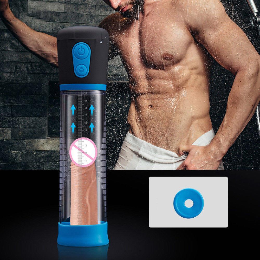Electric Penis Pump Enlargement Enlarge Automatic Vacuum Suction Extend Toy Exercise for Men Extender