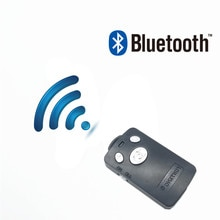 Uzaktan deklanşör Selfie deklanşör Bluetooth Uzaktan Kumanda Sopa Monopod Düğme zamanlayıcı yunteng 1288 IPhone 6 7 8 samsung
