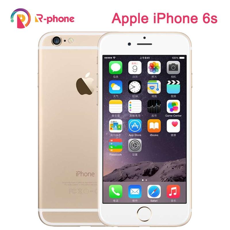Originele Apple Iphone 6S 99% Nieuw Gebruikt Mobiel 4.7 Inch Ios 16/64/128Gb Rom Dual core 12MP Camera 3G 4G Lte Unlocked Telefoon
