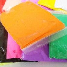 36 ألوان فائقة ضوء الطين لون الطين سلامة اللعب ألعاب أطفال لتقوم بها بنفسك الهوايات الهواء الجاف النمذجة الطين الفضاء البلاستيسين ذكي