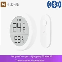 Youpin Cleargrass Qingping Bluetooth thermometre hygrometre temperature Hu mi capteur de luminosite pour Apple Siri HomeKit Mi Mi jia App Home