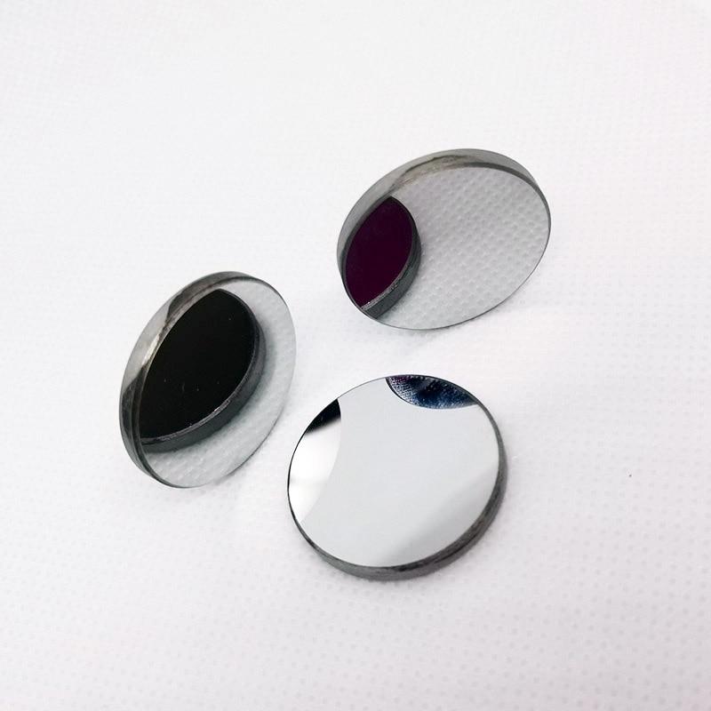 3 unids/lote Dia 30*3mm 38,1*3mm Mo espejo láser cóncavo espejo parabólico para máquina de grabado láser CO2