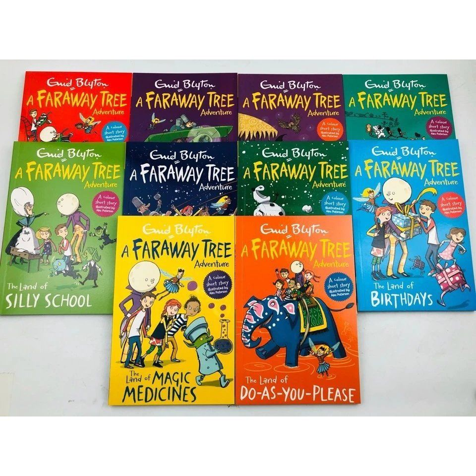 Enid Blyton A Faraway Tree Adventure Young-adult Novel English Comic Story For Age 5-12 Livros Educational toys