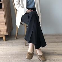 wide leg pants for women leisure female summer trousers 9562#
