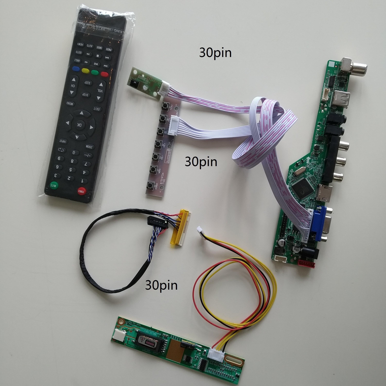 VGA AV الصوت LCD LED TV HDMI-متوافق USB 1 CCFL مصابيح بطاقة تحكم لوحة للقيادة عدة لتقوم بها بنفسك للوحة LTN154X3-L01 1280X800