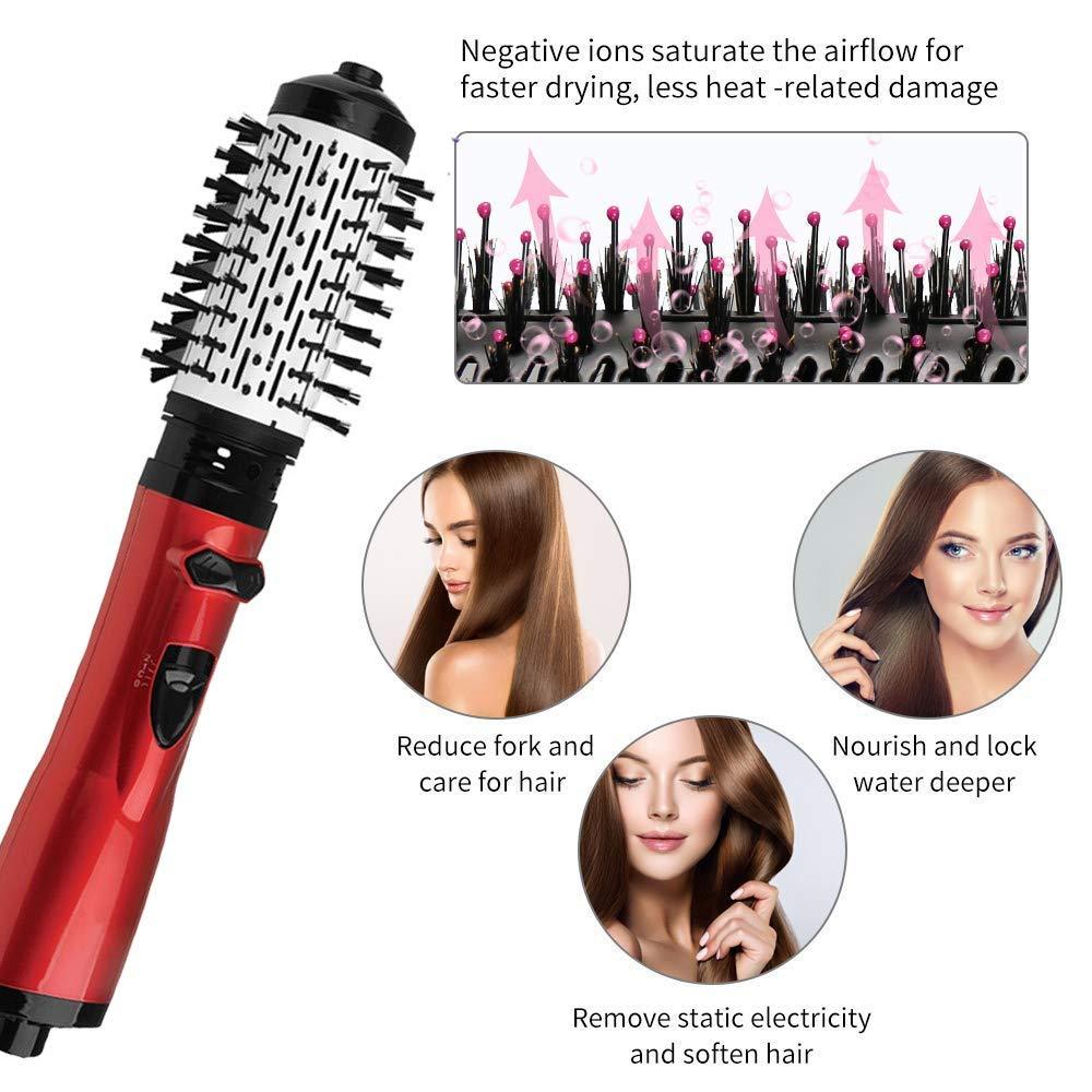 2 em 1 torcao do cabelo curling aquecimento rapido ferro com amplo penteado curlers