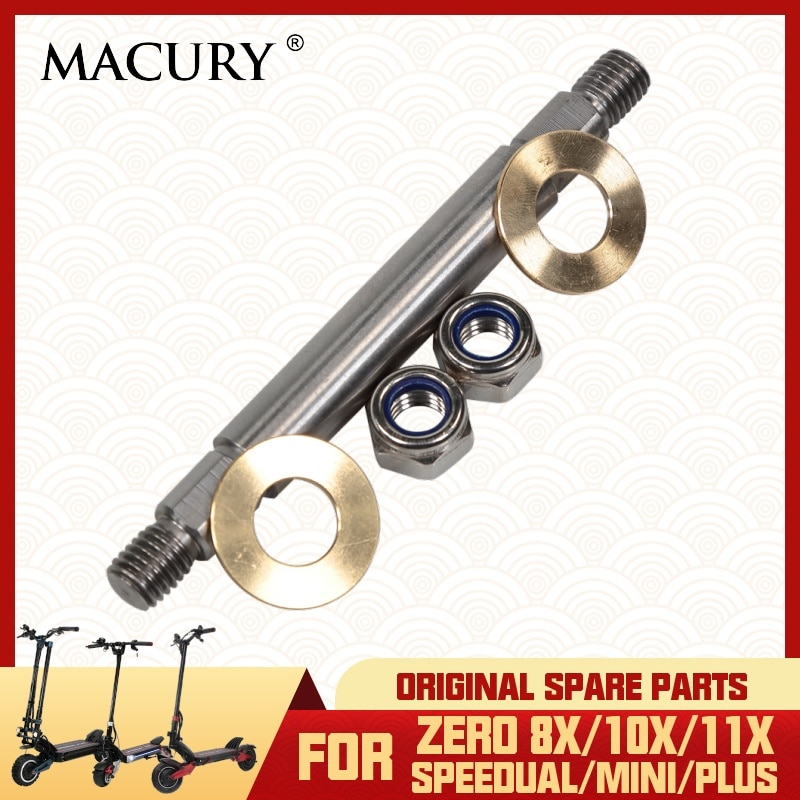 Axle Connecting Swing Arms and Suspension Arm & Rear Plate & Steering Column Only Fit for Zero 8X 10X 11X Speedual Series Shaft