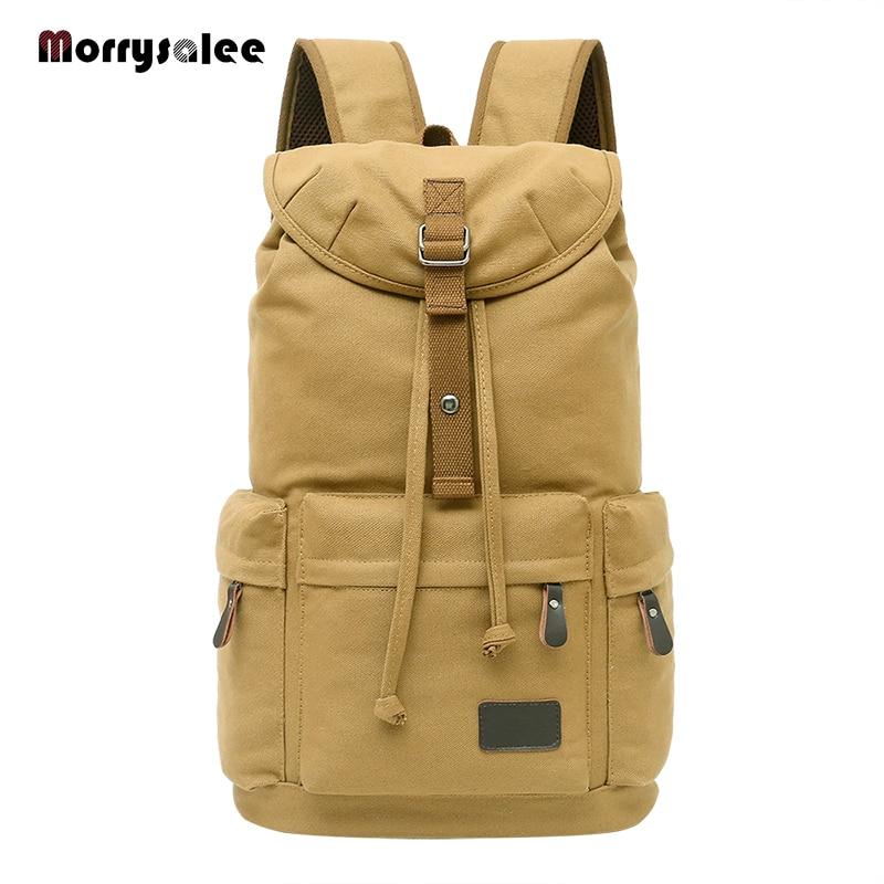 2021 Большой Вместительный мужской рюкзак для путешествий, большой школьный рюкзак для подростков, мужской холщовый рюкзак, мужской уличный ...