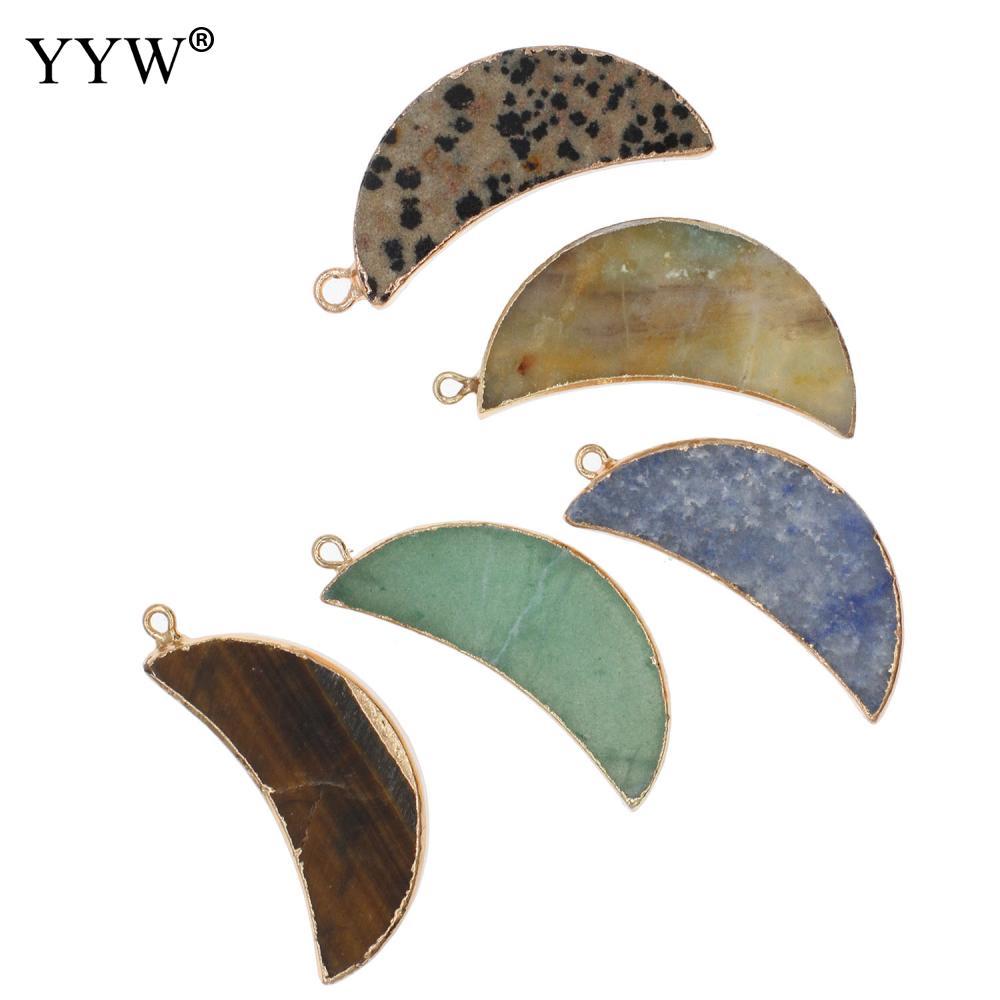 1 шт. кулон из натурального кристалла для изготовления ювелирных изделий Diy аксессуары Подходит для ожерелья Аксессуары для браслетов талис...