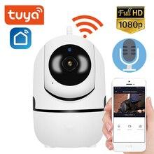 Tuya HD 1080P Mini kamera wewnętrzna kontrola aplikacji bezprzewodowe bezpieczeństwo w domu kamera IP WiFi kamera monitorująca noktowizor kamera telewizji przemysłowej