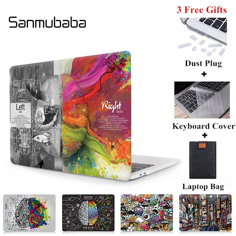 Sanmubaba carcasa de grafiti para Macbook Air Pro Retina, 11 12 13 15 16 pulgadas con Touch Bar cubierta para mac libro 13,3 de 15,4 Funda a1706