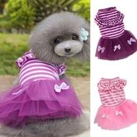 cat dog wedding dress summer dog clothes skirt princess dresses puppy york yorkie pomeranian poodle bichon maltese dog clothing