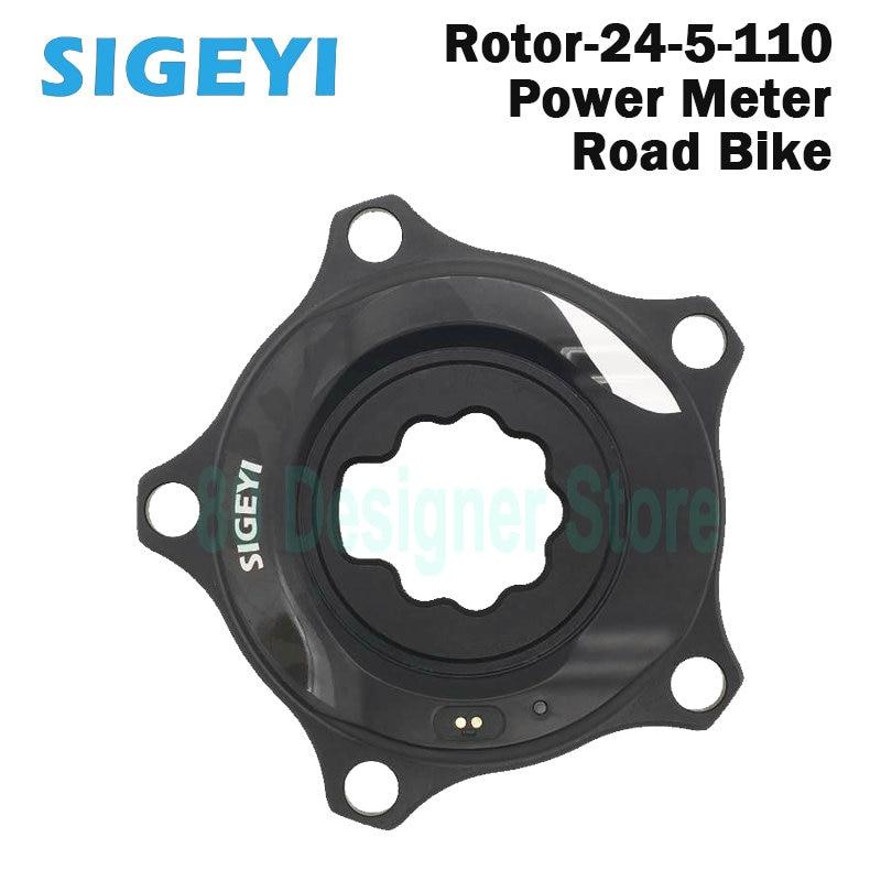 SIGEYI ROTOR ALDHU-مقياس طاقة الدراجة ، متوافقة مع Spider Cadence Crankset Road 110BCD 3D24
