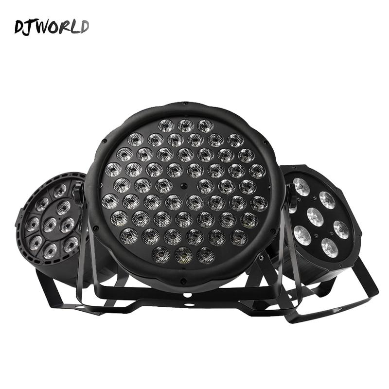Djworld топ продаж светодиодный Par 7x12W /7x1 8W/ 54x 3W/12x3W RGBW/12x3W Ультрафиолетовый цвет Par DMX512 для диско DJ вечерние светильник KTV