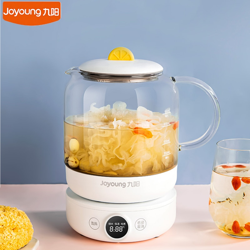 Joyoung غلاية كهربائية وعاء الصحية 1L لطيف المنزلية متعددة الوظائف الحفاظ على الصحة وعاء الحفاظ على الحرارة غلاية مياه 220 فولت