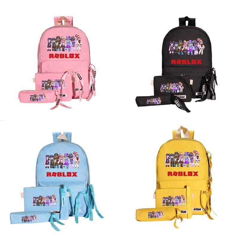 3pcs/set Waterproof Children School Bags for Boy Girls Backpacks Kids Schoolbag mochila Infantil