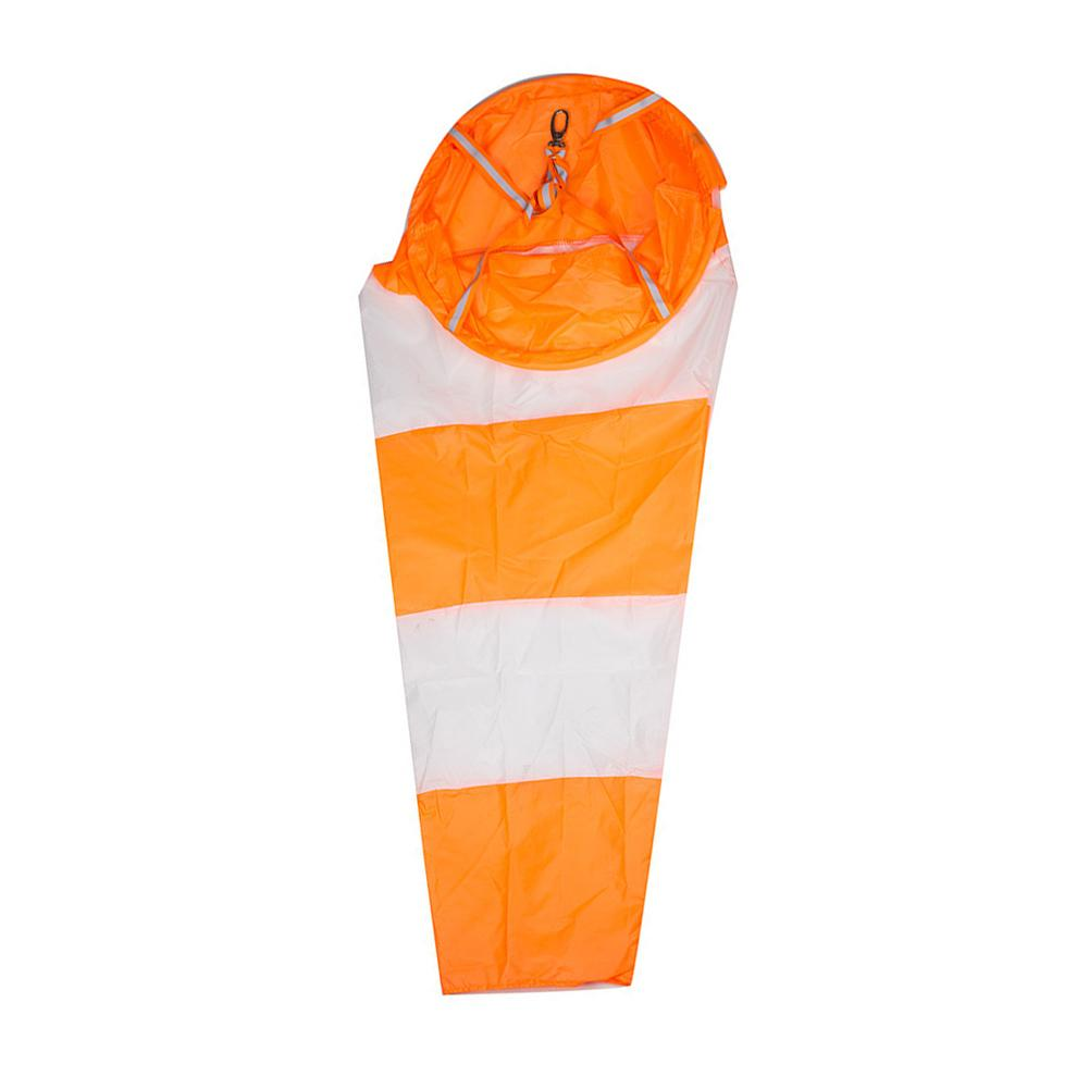 Nueva bolsa de Windsock para aviación al aire libre, medición del viento, cinturón reflectante veleta, cometa de juguete para monitoreo del viento, 80/100CM