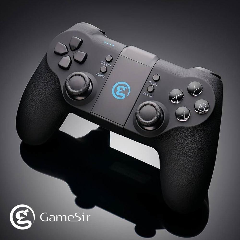 لوحة ألعاب GameSir T1s اللاسلكية مع بلوتوث 4.0 و 2.4 جيجا هرتز, وحدة تحكم ألعاب محمولة لأجهزة Android / PC / SteamOS PUBG Call of Duty COD