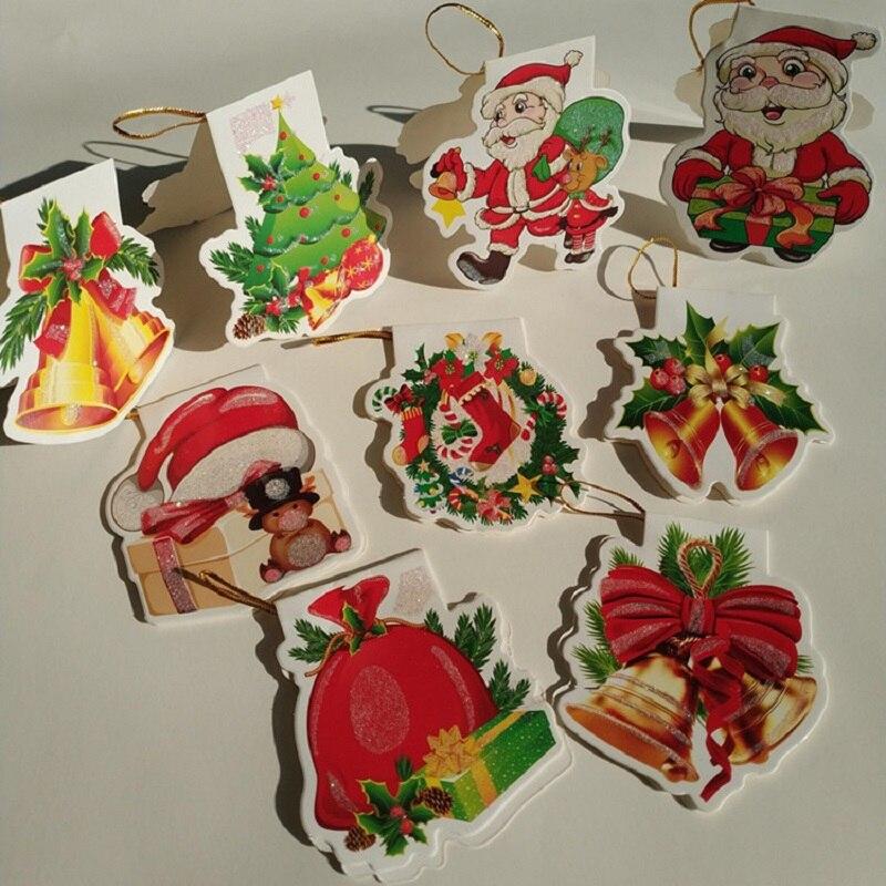 20 шт., поздравительные открытки на Рождество