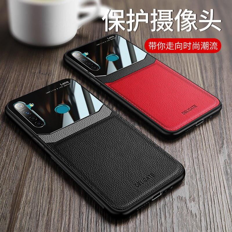 Funda para Xiaomi Redmi Note 9s Pro Max Redmi 8A Redmi 7 cuero sintético y TPU 2 en 1