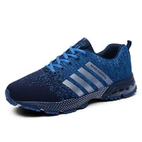 new mens casual sneakers breathable mesh running shoes cushion shoes comfortable non slip womens training shoe outdoor