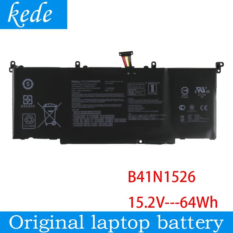 Kede original ordenador portátil batería B41N1526 para Asus ROG Strix S5VS FX502VM GL502VT GL502VM S5VM 15,2 V 64Wh