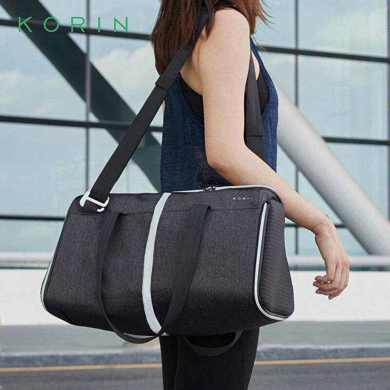 Mochilas Kingsons K4 de gama alta para mujer, bolsos cruzados, bolso impermeable con TSA Lock antirrobo, bolsas de viaje femeninas de alta calidad