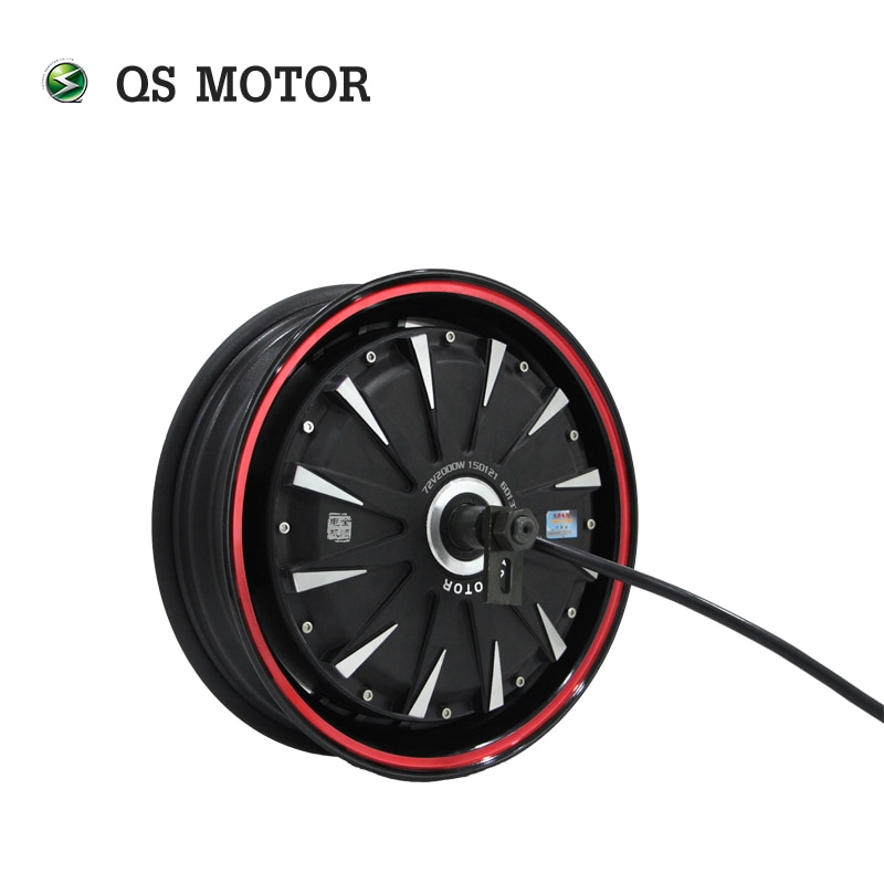QS Motor 13x3.5inch 3000W 40H V1 260 BLDC Brushless Electric Scooter Hub Motor