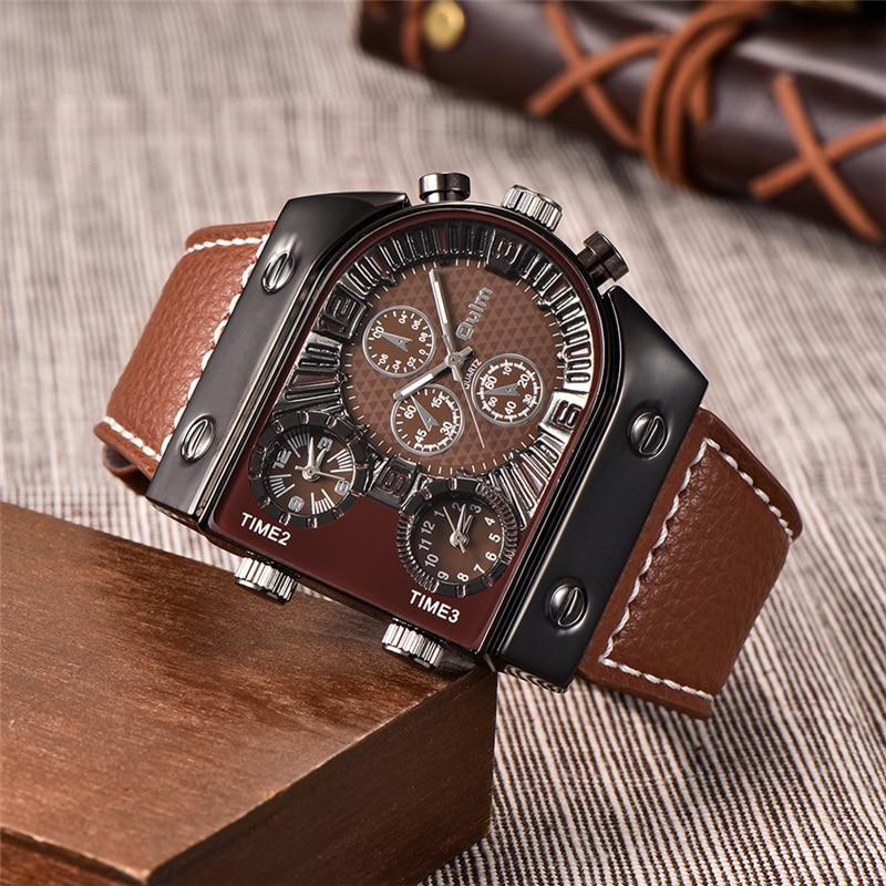 Новые наручные мужские часы, кварцевые часы, Для мужчин Топ бренд, роскошные известные наручные часы Бизнес кварцевые часы, мужские часы ...