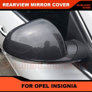 Rearview Mirror Housing Mirror Cover For Opel Insignia 2009-2019  Exterior Outside Mirror Cap Hood Shell Trim Car Accessories