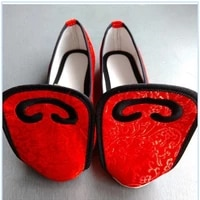 shoes womens alice toe shoes traditional handmade melaleuca bottom plus rubber sole cloth shoes dance hanfu shoes