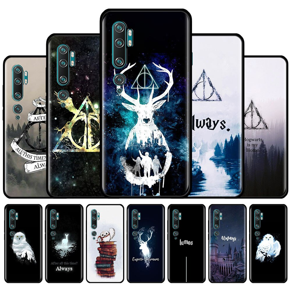 Siempre Hogwart Potter funda de silicona para Xiaomi Mi 10 9T 8 9 A1 A2 A3 CC9 CC9E Nota 10 Lite Poco X2 F2 M2 Pro F1 cubierta Couqe