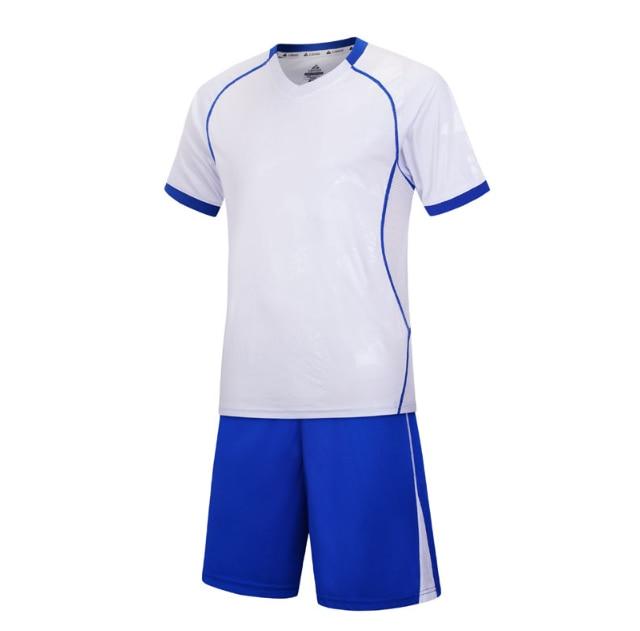 blank soccer jersey Custom Men's Soccer Jersey Football Uniforms Summer Training Suits Original Team Jersey Short Sleeve Breathable