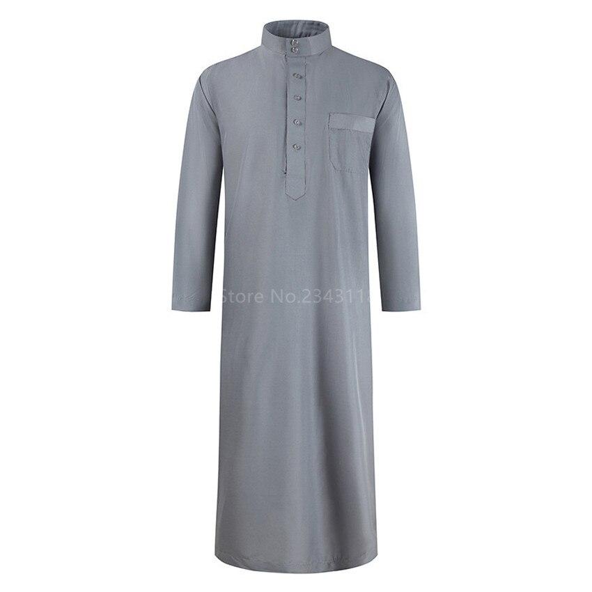2021 Muslim Fashion Kimono Jubba Thobe Robe Mens Abaya Eid Mubarak Turkey Embroidery Middle East Islamic Clothing Dubai Arabic