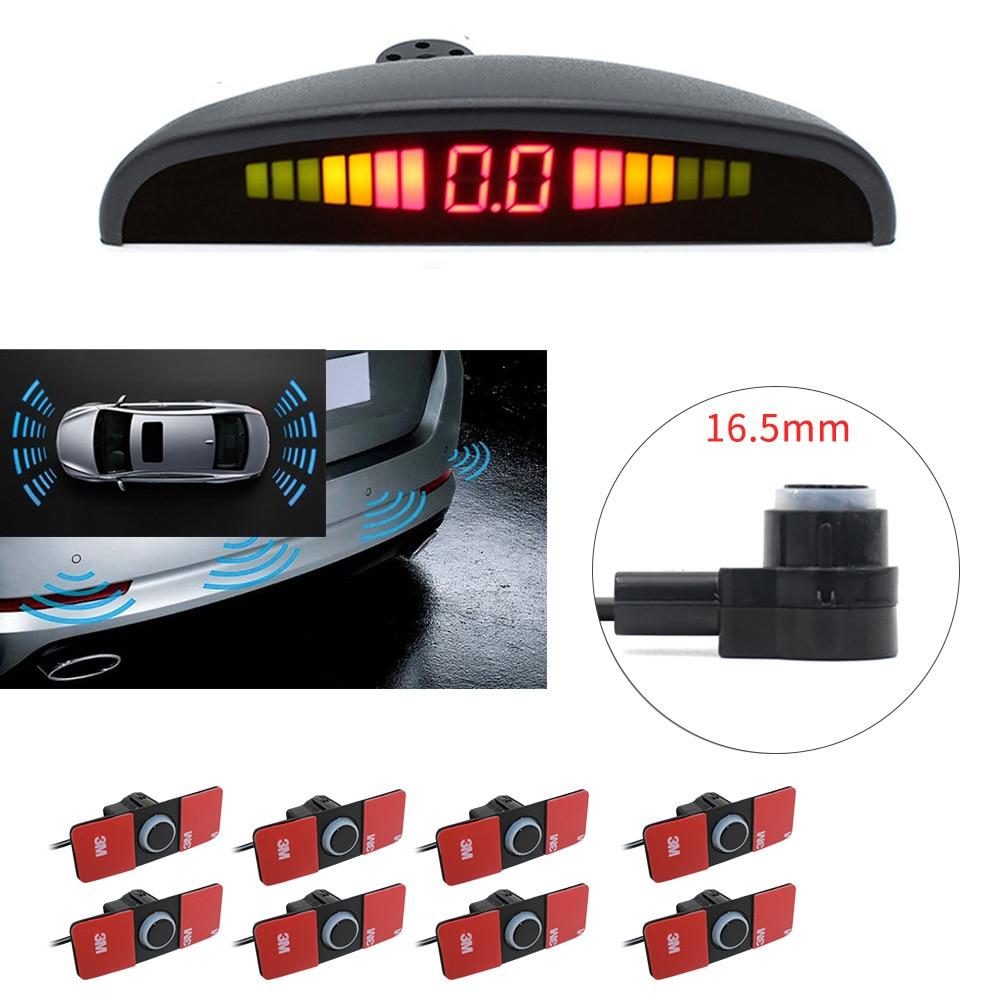 Автомобильная система датчиков парковки, 8 датчиков, с радаром и монитором