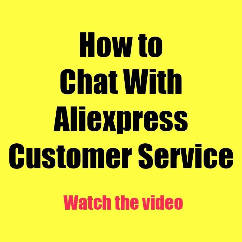 Youngther كيفية الدردشة مع خدمة عملاء Aliexpress ، لا تشتري هذا المنتج ، لن نشحنه