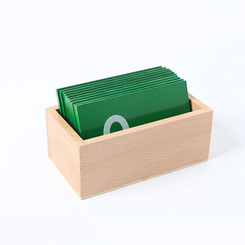 Materiales Montessori papel de lija de madera números Montessori juguetes para aprender matemáticas Educación Preescolar L566F