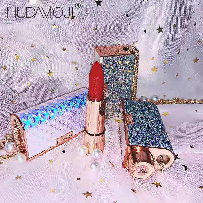Nueva cartera Sexy-pintalabios impermeable duradero cosmético líquido lápiz labial y los labios lápiz de labios mate Matte Lip brillo labios belleza