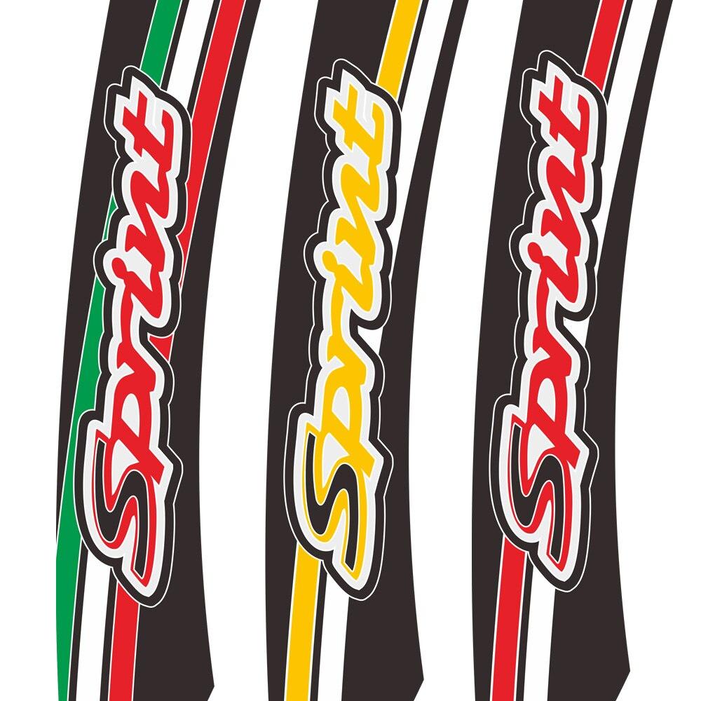 Para piaggio vespa sprint150 sprint sprint50 sprint 50 125 150 corpo da motocicleta escudo decalque adesivo moto filme vestir paster