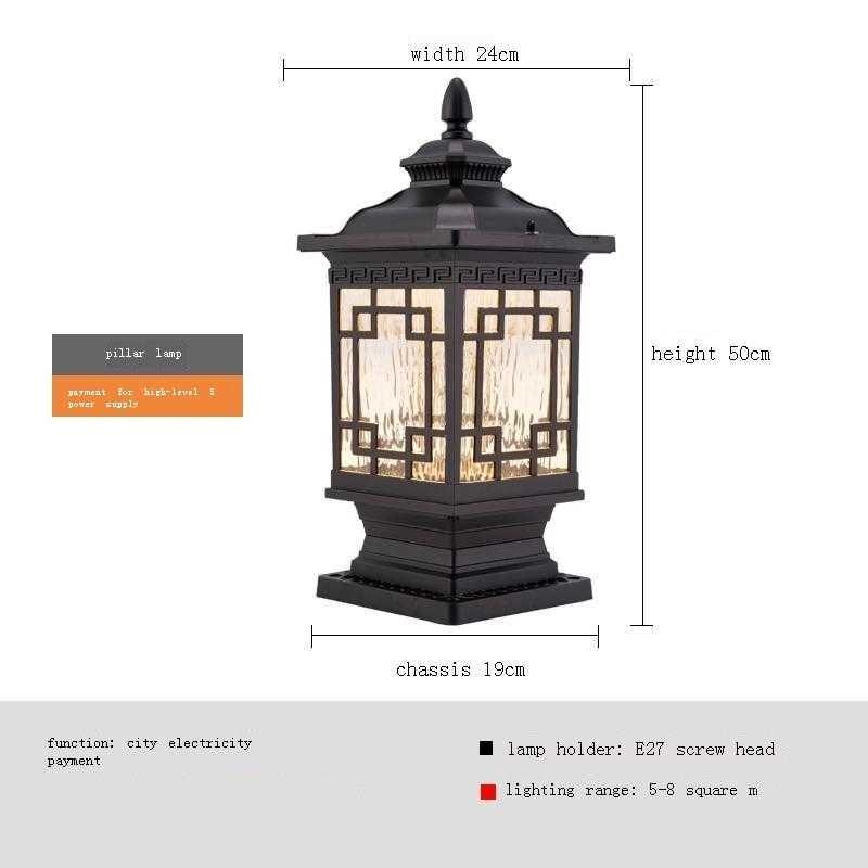 Aydinlatma Tuin Verlichting Lumiere De Lampe Exterieur Lamp Lighting Luce Para Jardin Outdoor LED Tuinverlichting Garden Light enlarge