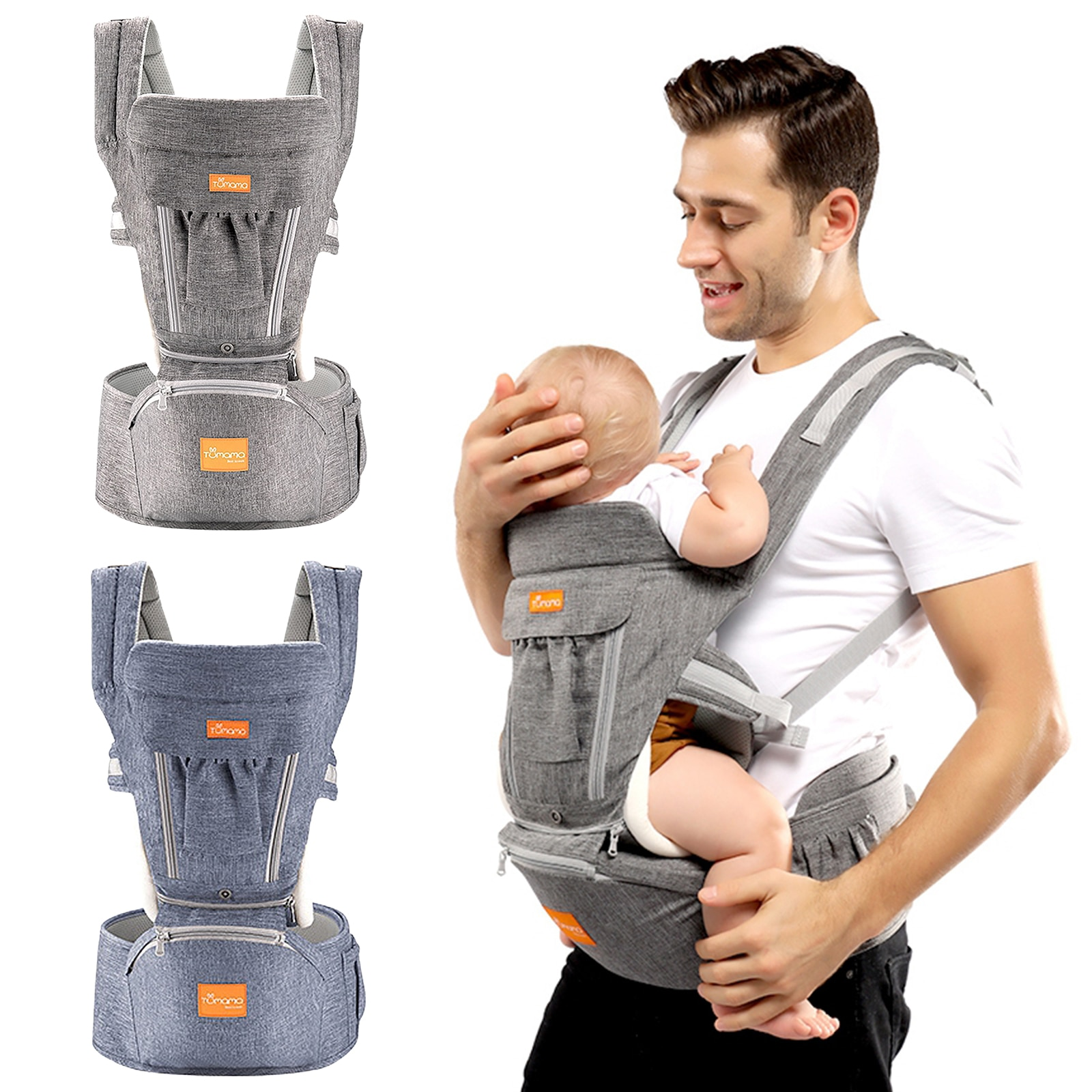 Baby Carrier for Baby Travel Weight-bearing 3.6-15kg 0-36 Months Babies