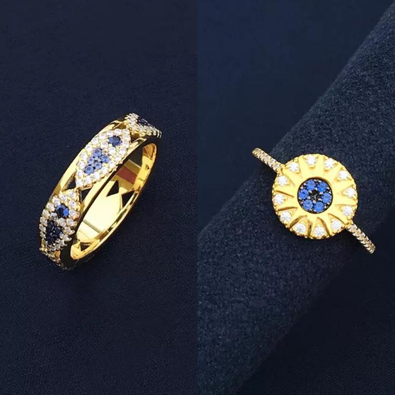 Женское-кольцо-«рыбий-глаз»-из-серебра-100-пробы