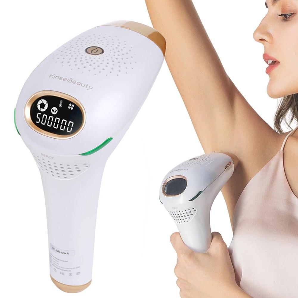 Kinseibeauty IPL آلة إزالة الشعر بالليزر آلة إزالة الشعر المهنية الوجه الجسم نظام مزيل الشعر آلة لنزع الشعر بالليزر للنساء والرجال