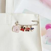 disney cute brooch metal mickey pin cartoon minnie badge lapel pin brooches jackets fashion jewelry accessories