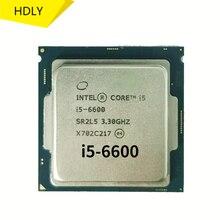 I5 6600 3,3 ГГц 6M 4 ядра 4 потока 65 Вт LGA1151 процессор для настольного ПК ddr3 оперативная память