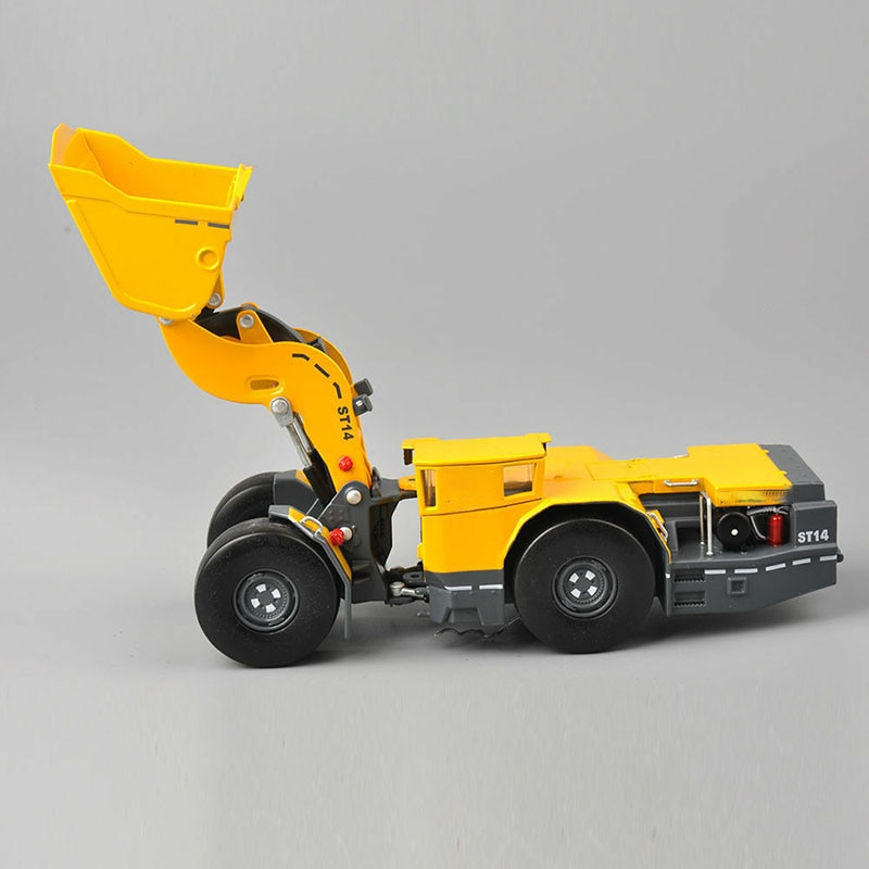 1:50 scale diecast ST14 mining loder metal model construction engineering vehicles truck toy enlarge