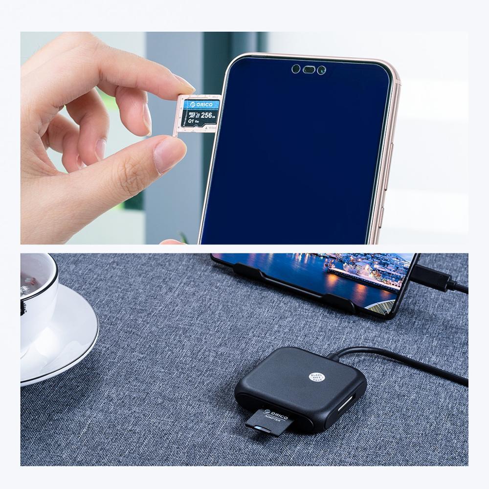 ORICO Mini Micro SD Card Memory Card  32GB MicroSD Max 80M/s SD/TF Flash Card cartao de memoria Карта памяти with Card Adapter enlarge