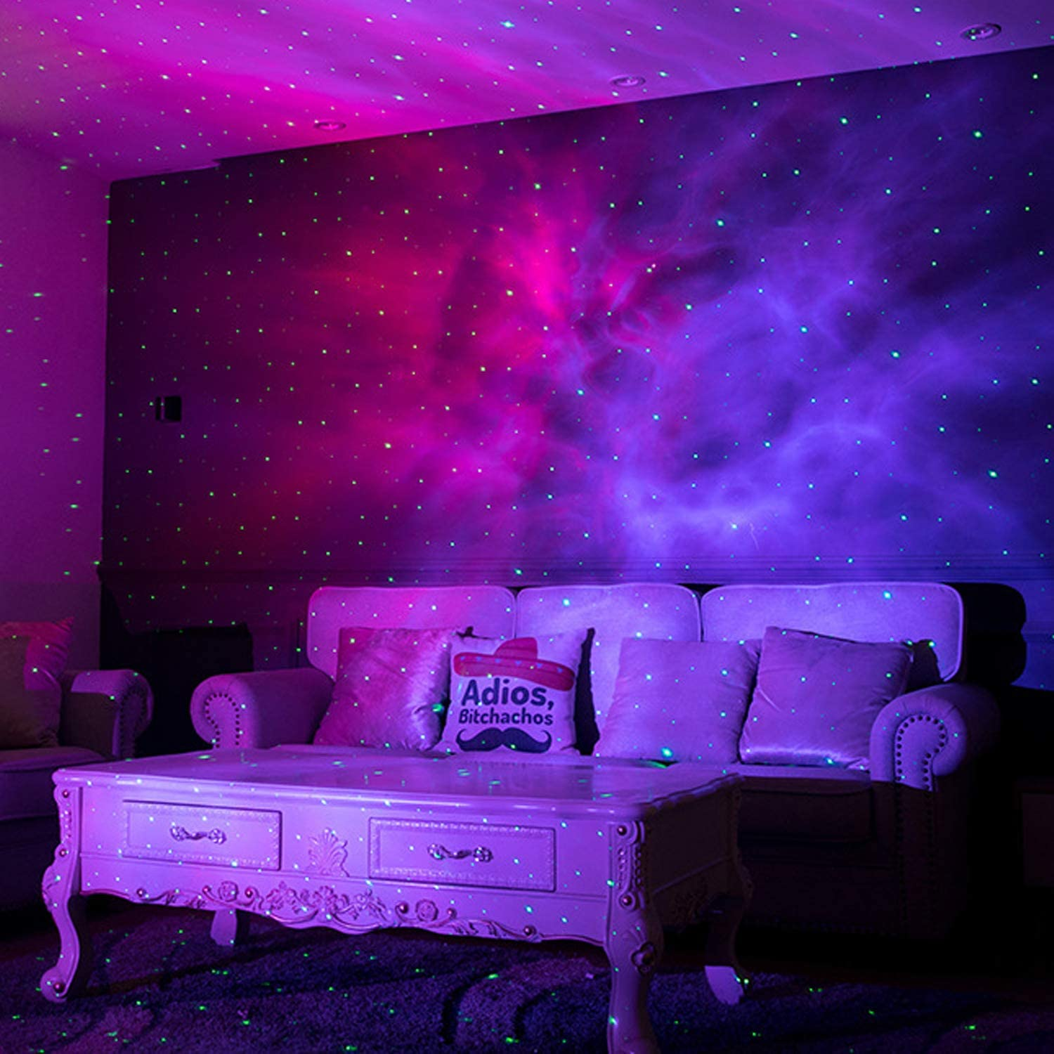 Colorful Starry Sky Galaxy Projector Lamp Children Bedroom Star LED Night Light Holiday Lights Projection Lamp Kids Gift enlarge