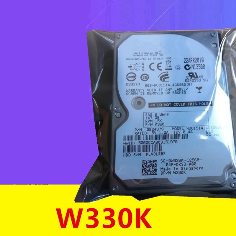 قرص صلب جديد أصلي 98% لأجهزة Dell 147GB 2.5